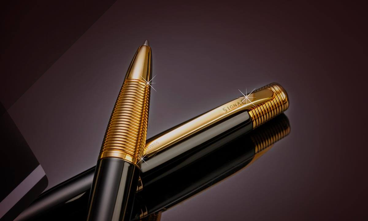 high end luxury pens, signac pens, switzerland, roller pen, ball pen, premium and branded pens in India, swiss brand, personal accessories, personalise designer pen